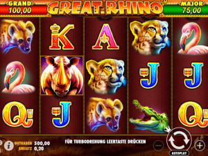 great rhino spielautomaat